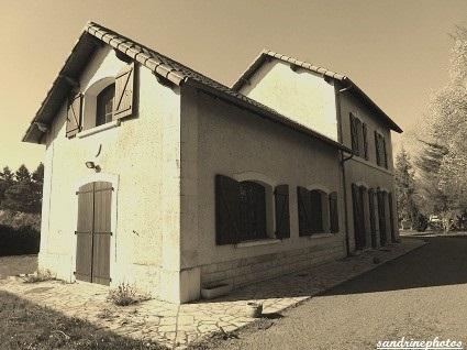 Ancienne gare de Bouresse Ligne Châtellerault Bouresse Poitou-Charentes 1914-1934