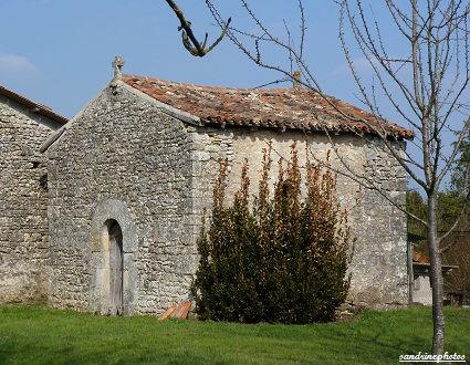 chapelle sainte Catherine Saint Fort villemblée Bouresse