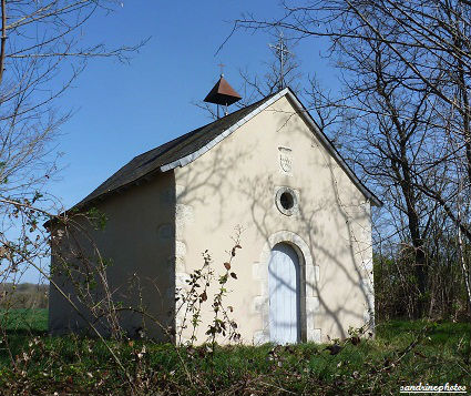 chapelle sainte-Radegonde Seigneur de Rochechouard blason Bouresse Route de Verrières
