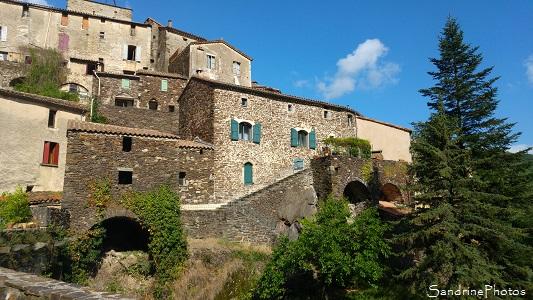 Village de Saint-Martial, Gard, Cévennes
